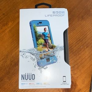 NWT LIFEPROOF CASE NUUD screenless tech iPhone 6s